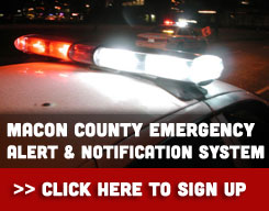 Emergency Alert and Notification System in Macon County, Illinois