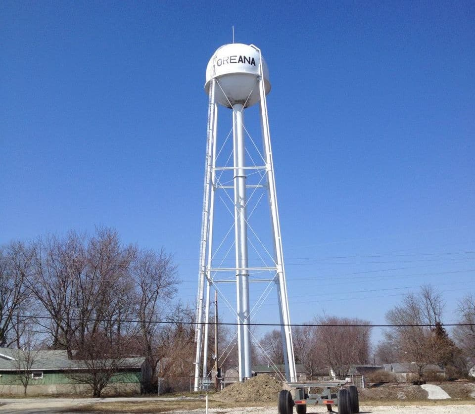 Oreana Water Tower