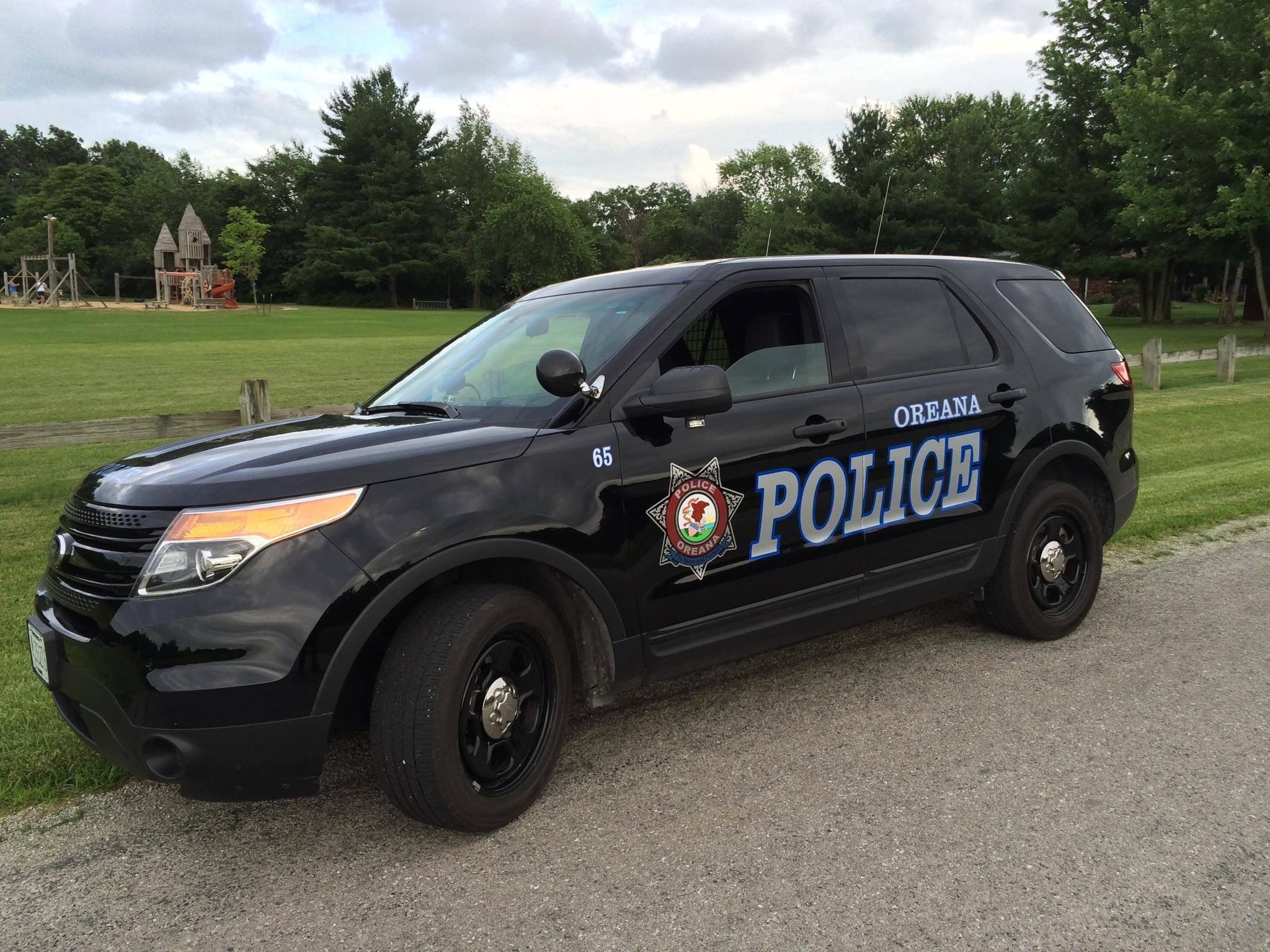 New Oreana Police Vehicle